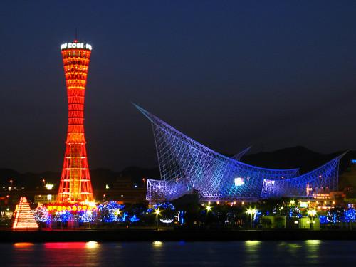 nightview kobe2 500x375 綺麗!豪華・絢爛! 世界の夜景 画像集