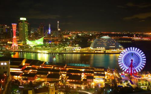 nightview kobe3 500x312 綺麗!豪華・絢爛! 世界の夜景 画像集