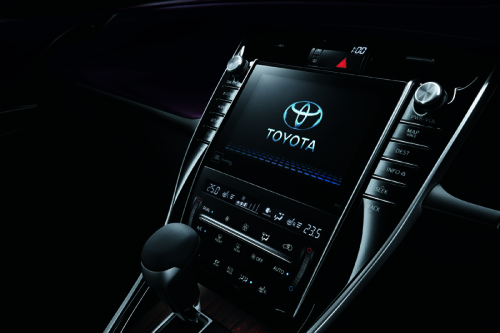 harrier interior1 500x333 ハリアー新型が発売開始。トヨタのハイブリッドSUV。画像で確認。