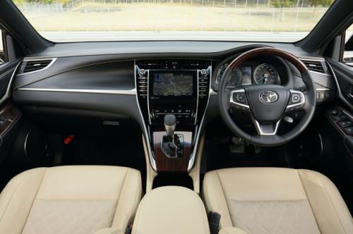 harrier3 500x332 ハリアー新型が発売開始。トヨタのハイブリッドSUV。画像で確認。